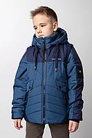 Куртка жилетку на хлопчика розміри 128-146, фото 1