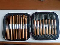 Спицы для вязания бамбуковые набор подарочный