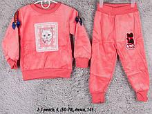 Детский спортивный костюм 2-1 peach