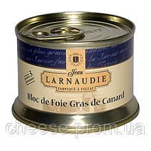 Блок фуа гра з качки 130 г Larnaudie