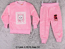Детский спортивный костюм 2-4 I.pink