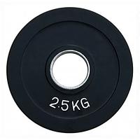 Диск олімпійський прогумований alex 2.5 кг