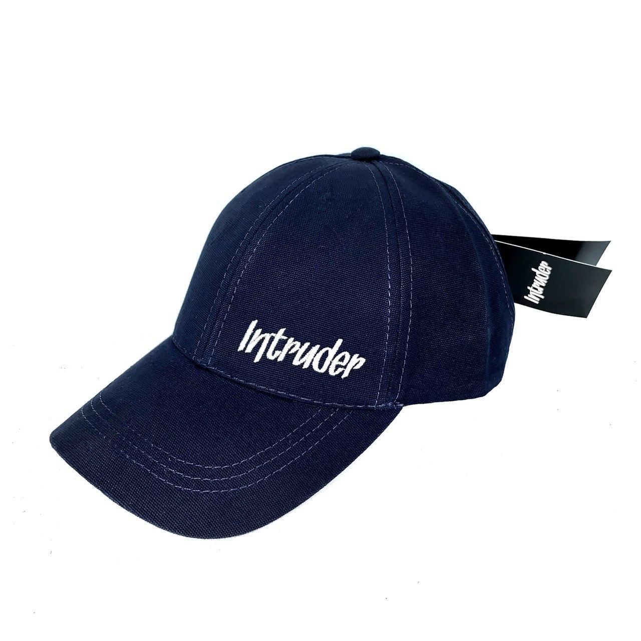 Кепка Intruder мужская   женская синяя брендовая small logo + Фирменный подарок