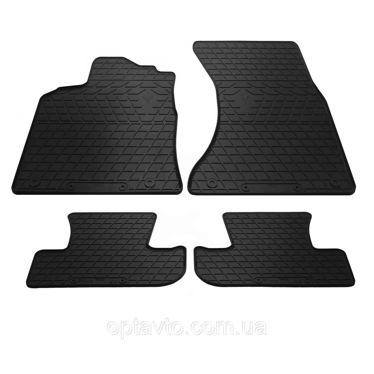 AUDI Q5 (8R)  - комплект качественных резиновых ковриков. Комплект 4 шт. (2008-2016)