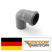 Колено PP 50х87 внутренней канализации Ostendorf HT Германия