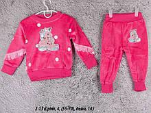 Детский спортивный костюм 2-13 d.pink