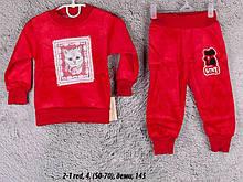 Детский спортивный костюм 2-1 red
