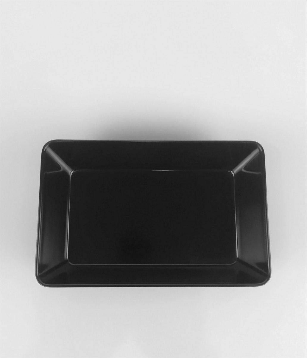 Блюдо One Chef  черное 22,6х14,7 см h6,2 см меламин (829)