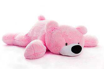 Велика м'яка іграшка ведмідь Умка 180 см рожевий