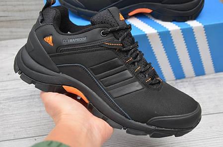 """Кроссовки Adidas Climaproof  """"Черные/Оранжевые"""", фото 2"""