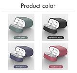 Чохол для навушників Xiaomi Mi Air 2 Колір Білий (напівпрозорий) TWS Bluetooth Silicone Case, фото 6