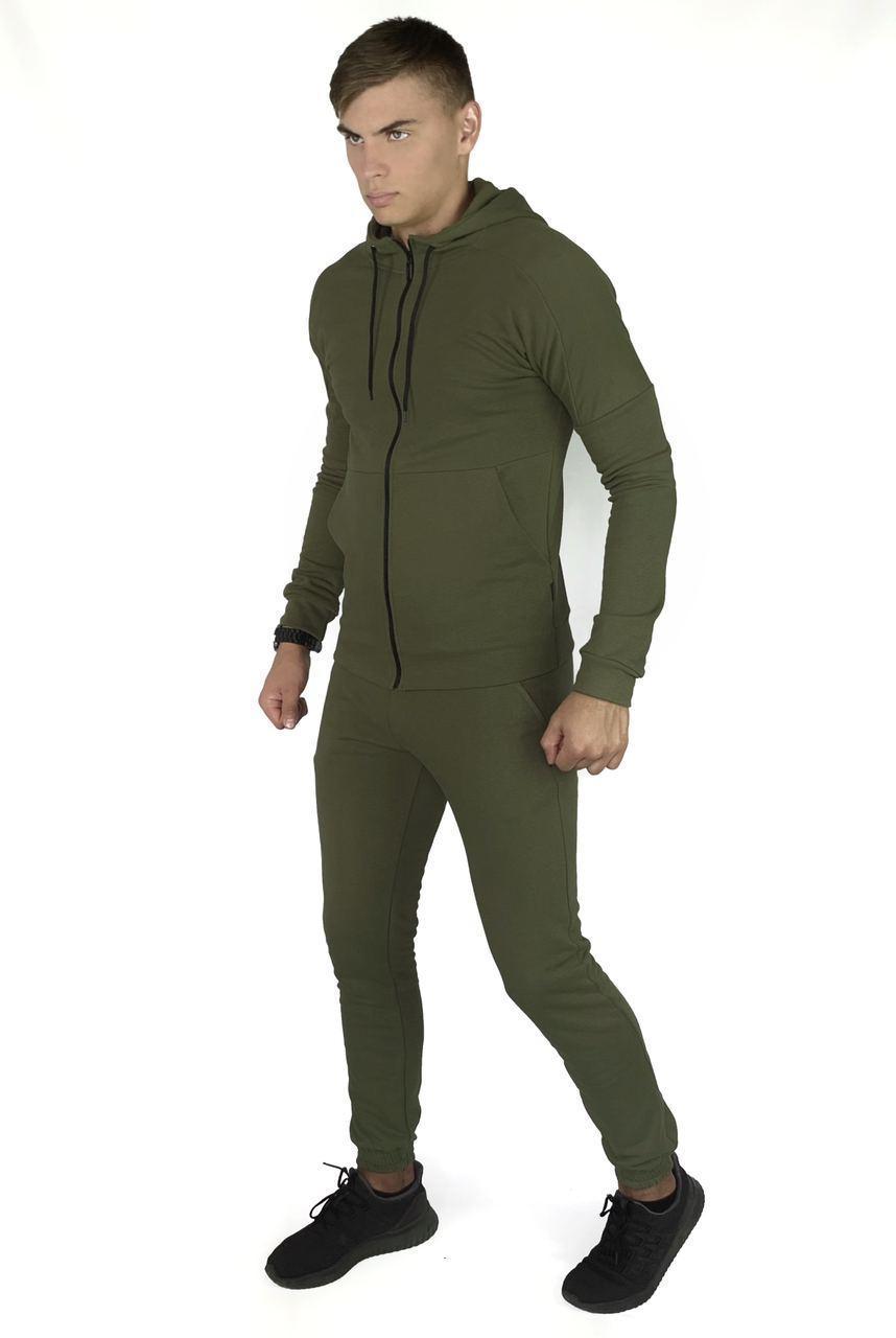 Костюм мужской спортивный Cosmo Intruder хаки Кофта толстовка + штаны + Подарок 1