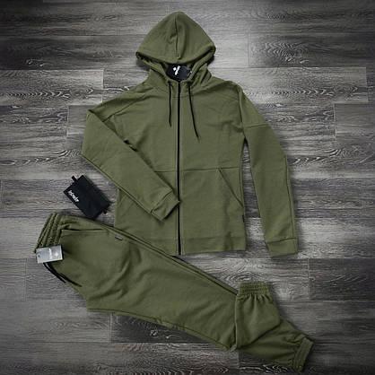 Костюм мужской спортивный Cosmo Intruder хаки Кофта толстовка + штаны + Подарок 1, фото 3