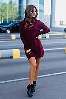 Платье женское теплая вязка в расцветках 60984, фото 1