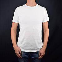 Белая футболка мужская  L