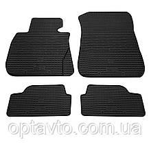 BMW 1 (E81/E82/E87)  - комплект качественных резиновых ковриков. Комплект 4 шт. (2004-2011)