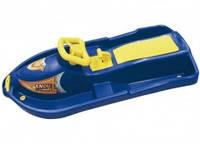 Детские санки Plastkon Snow Boat, цвет синий