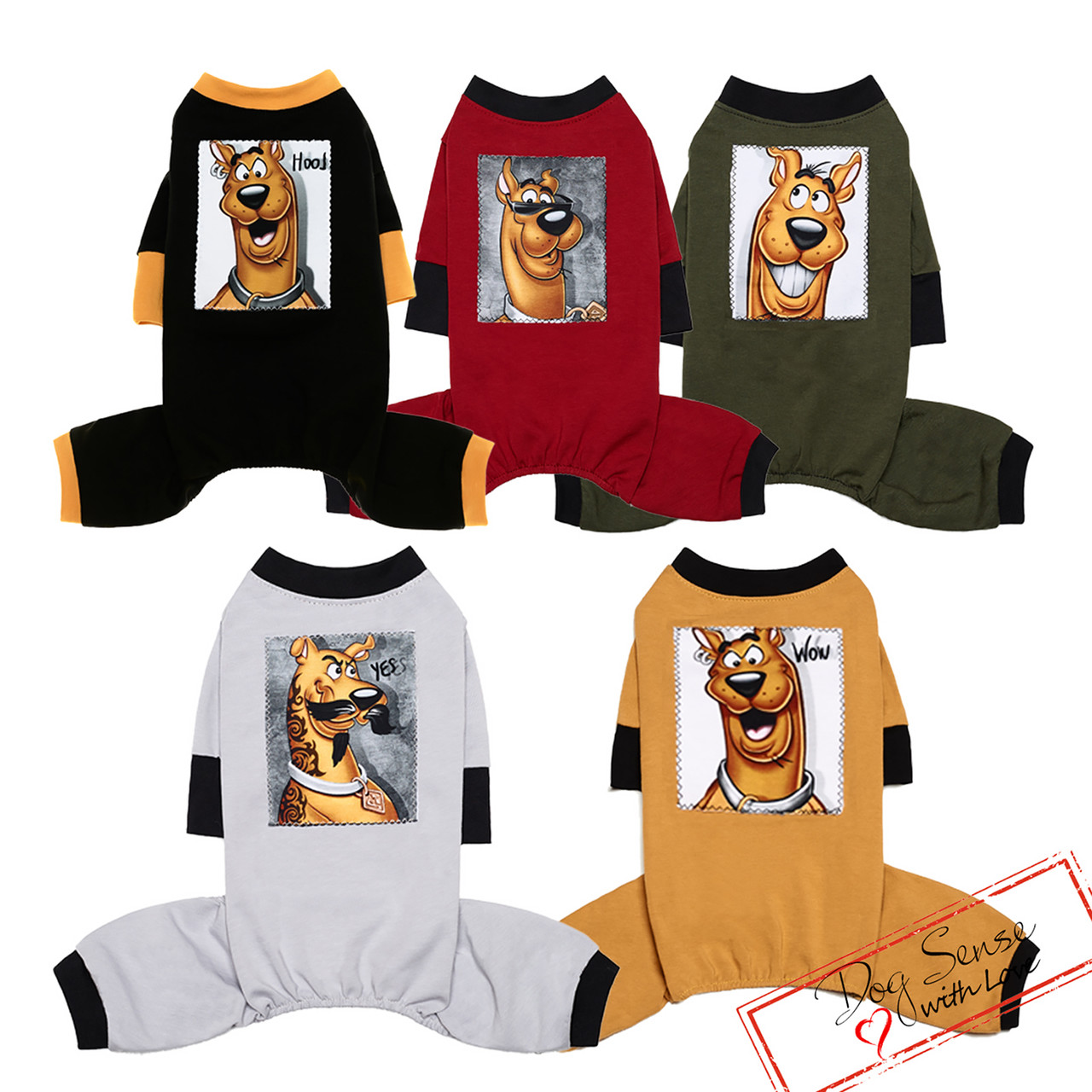 Трикотажний костюм Скубі Ду розмір М (28-30см)