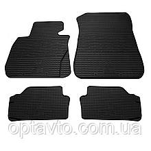 BMW 3 (E90/E91/E92) - комплект качественных резиновых ковриков. Комплект 4 шт.  (2004–2013)