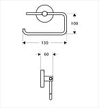 Тримач для т/паперу без кришки, фото 2