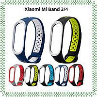 Сменные ремешки для Smart Band M3/M4, Xiaomi mi band 3/4 ми бенд 3/4 Silicon браслет аксессуар зарядный кабель