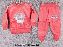 Детский спортивный костюм 2-7 d.pink