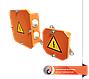 Клеммная коробка огнестойкая ККB-150х200х85-10х4-6х40, фото 3