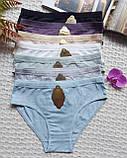 Т6222 Женские трусики-слипы разные цвета, фото 6