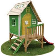 Детский игровой домик PlayHouses - Fantasia 300 Green (кедр)