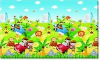 Детский игровой развивающий коврик Dwinguler Safari