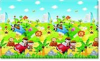 Детский игровой развивающий коврик Dwinguler Safari (большой)