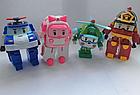 Трансформеры Robocar Poli - Поли Робокар набор из 4 героев, фото 7