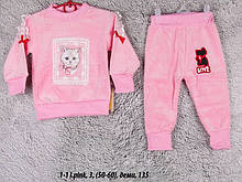 Детский спортивный костюм 1-1 I.pink