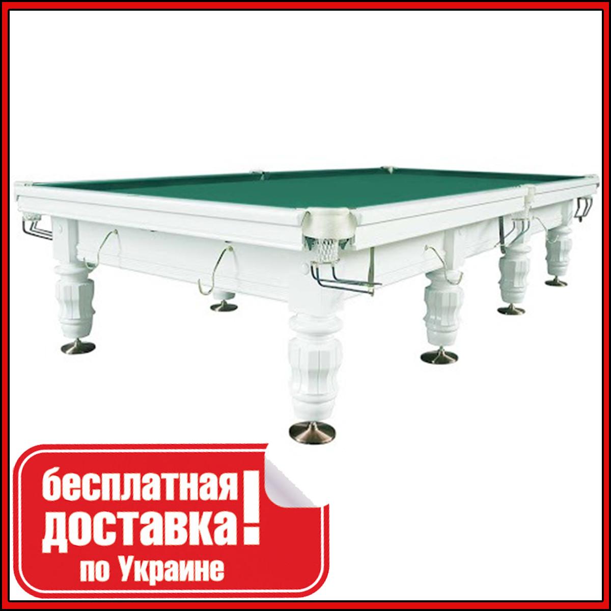 Більярдний стіл для піраміди МОЦАРТ 10 футів Ардезія 38 мм 2.8 м х 1.4 м з натурального дерева