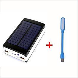 PowerBank на сонячних батареях Solar Power Bank 90000mAh