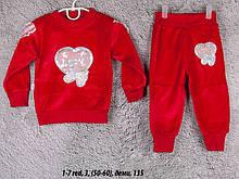 Детский спортивный костюм 1-7 red