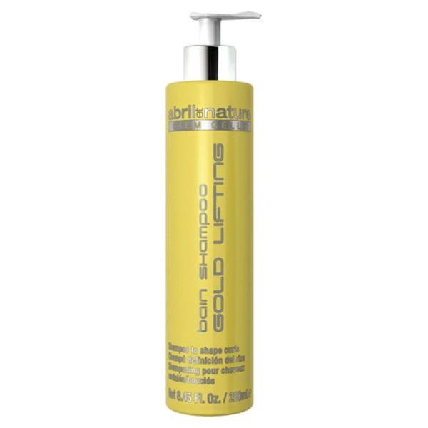 Шампунь со стволовыми клетками для вьющихся волос Abril et Nature Stem Cells Bain Shampoo Gold Lifting 250 мл