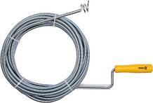 Трос для прочистки канализации 9 мм/10 м Vorel 55545 (Польша)