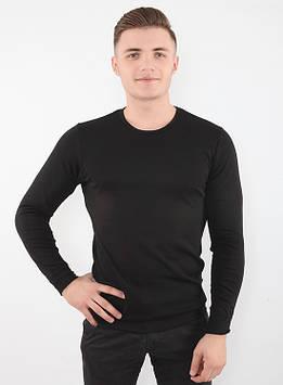 Чоловіча спортивна термокофта чорна Meryl Skinlife (розміри S-2XL) розмір S