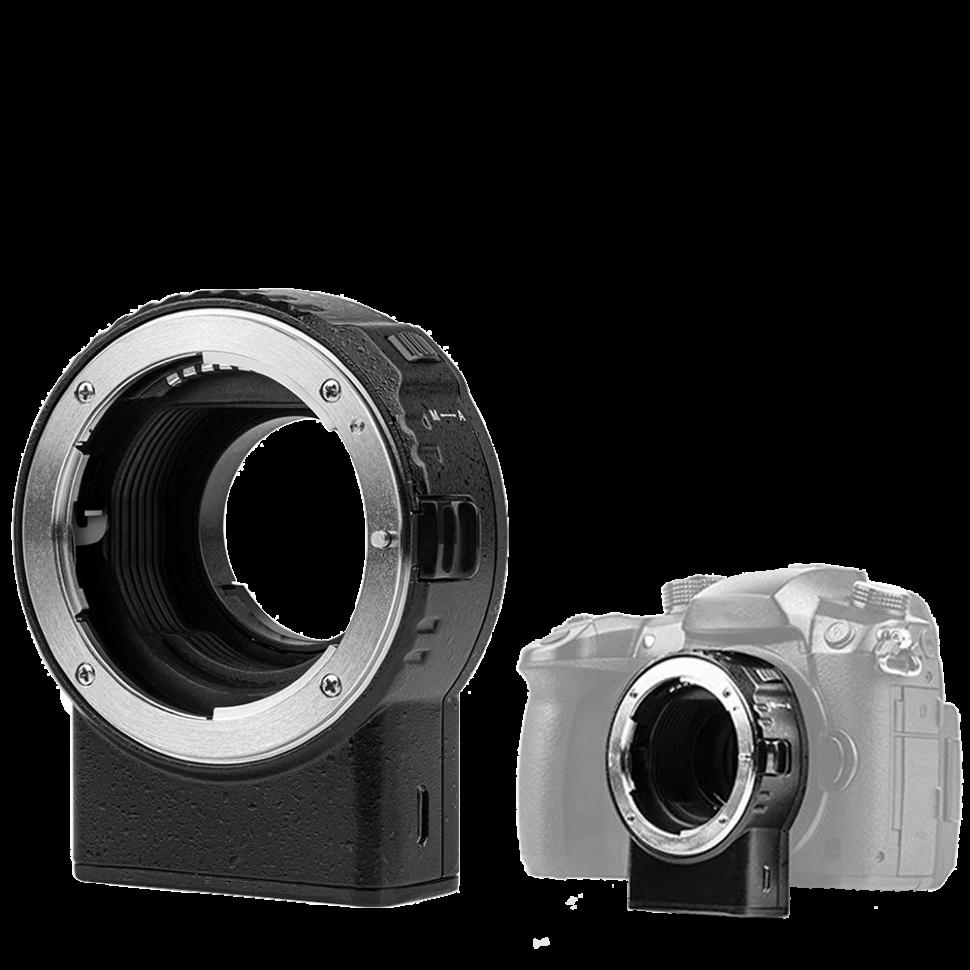 Адаптер Viltrox NF-M1 для объектива F-mount на байонет Micro 4/3 (Nikon F - Micro 4/3) (Panasonic, Olympus)