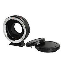 Адаптер Viltrox EF-M1 для объектива EF, EF-S на байонет Micro 4/3 (Canon EF - Micro 4/3) (Olympus, Panasonic), фото 2