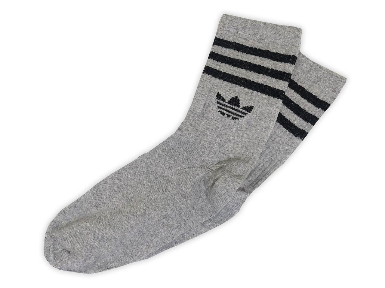 Мужские носки A серые с чёрным