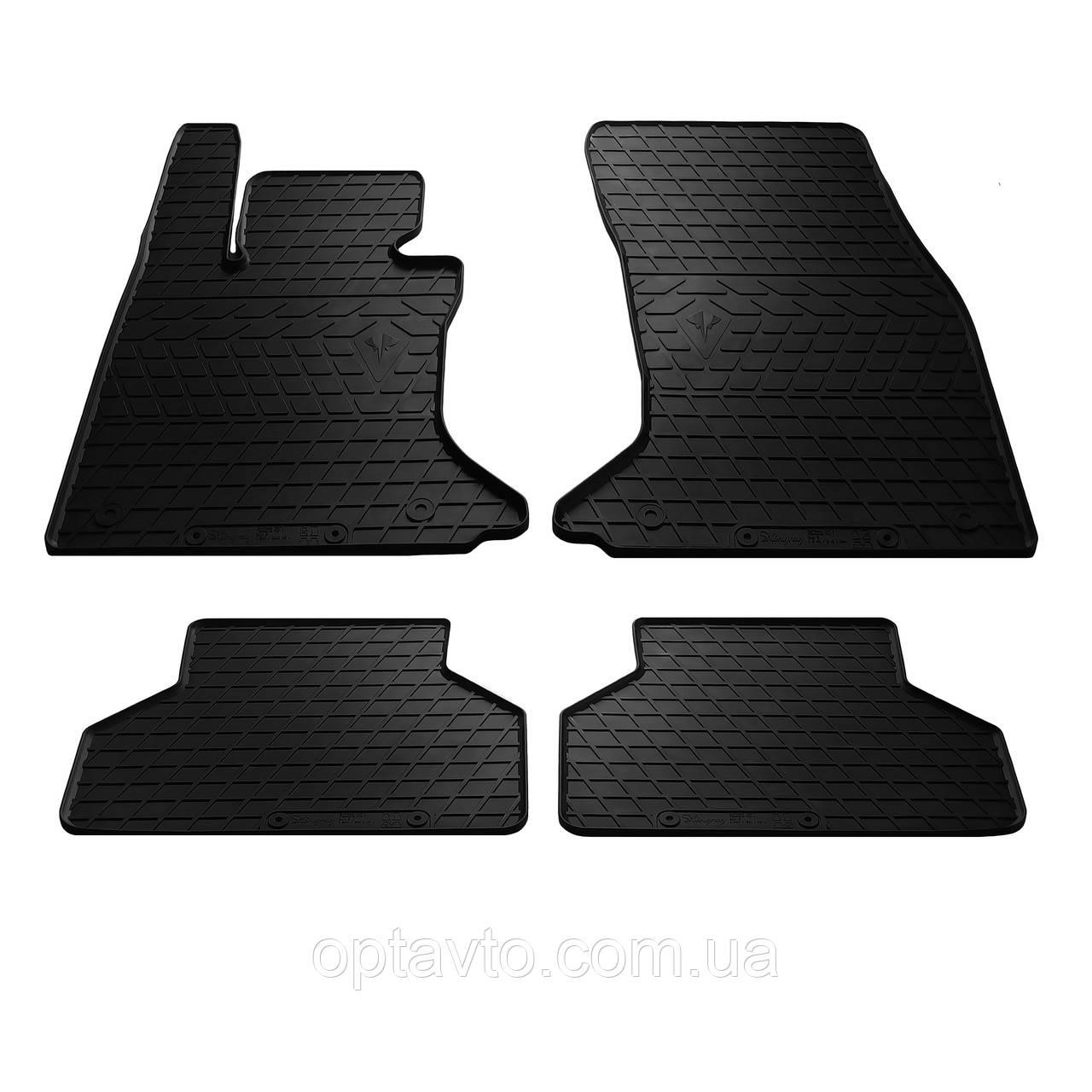 BMW 5 (E60/E61) - комплект качественных резиновых ковриков. Комплект 4 шт.  (2003–2010)