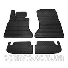 BMW 5 (F10/F11) - комплект качественных резиновых ковриков. Комплект 4 шт.  (2013-2016)