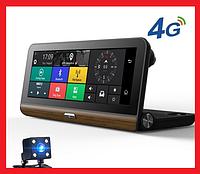 DVR T7 Видеорегистратор на торпеду -3 в 1 Android - Регистратор, GPS навигатор, камера заднего вида