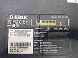 Б/У D-link DSL-2540U, фото 3