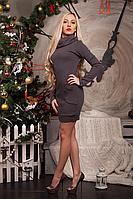 Женское платье-туника из ангоры