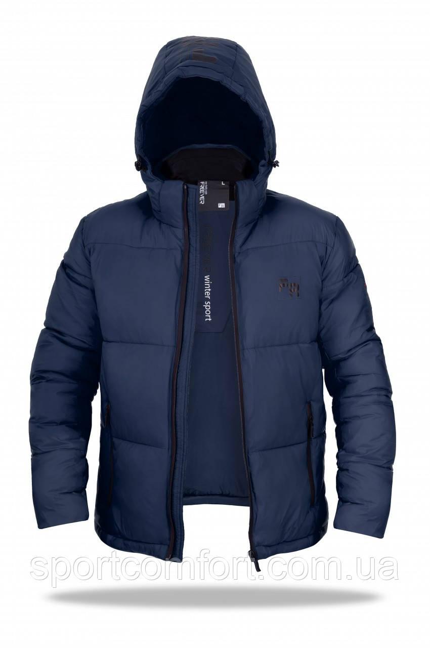Зимняя куртка мужская Freever синяя