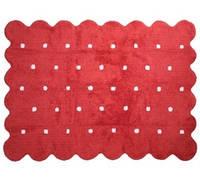 Детский хлопковый ковер Lorena Canals - Galleta, цвет roja