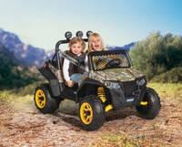 Детский электромобиль Peg-Perego Polaris Ranger RZR 900, цвет камуфляж